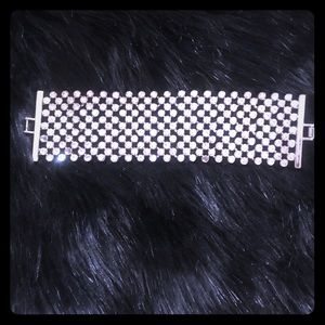 Ann Taylor Swarovski crystal element bracelet